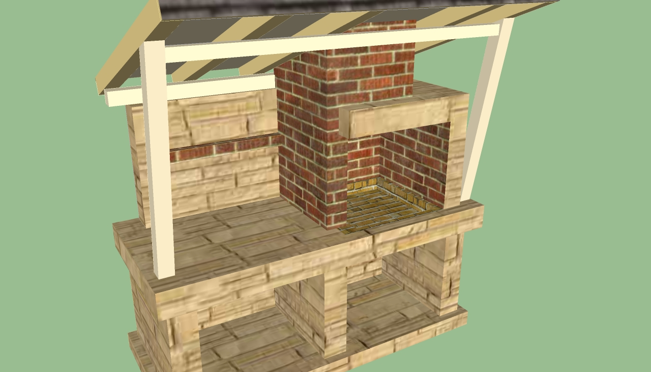 Do it yourself storage building plans for Brick garden shed designs