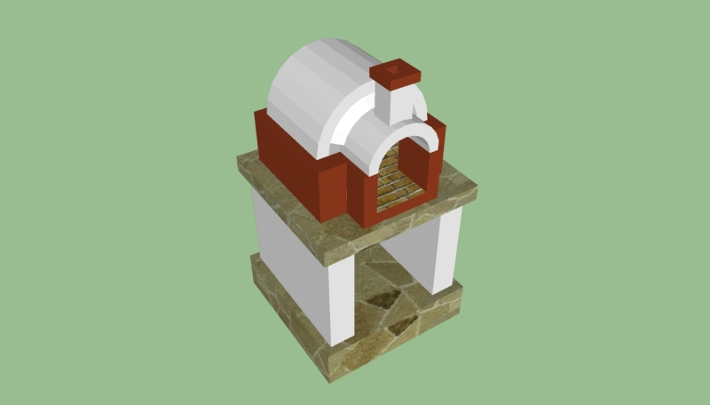 plans for outdoor wood oven