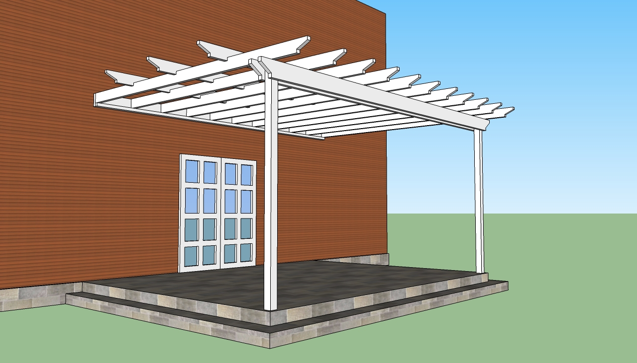 Storage shed attached to house plans