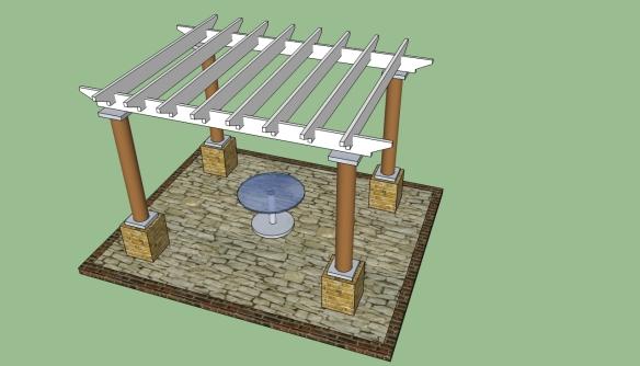 easy build pergola plans
