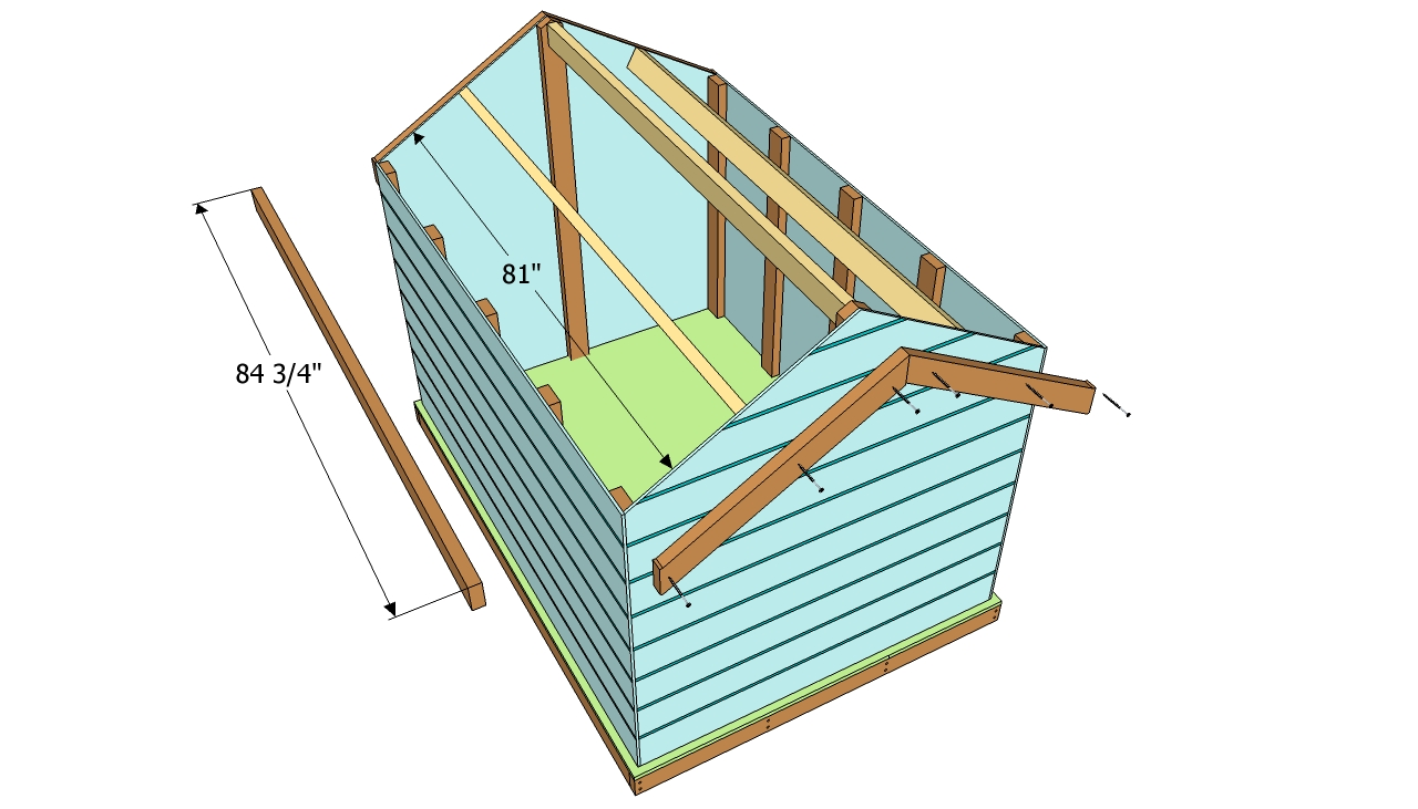 Diy two story shed playhouse plans plans free for Two story shed plans free
