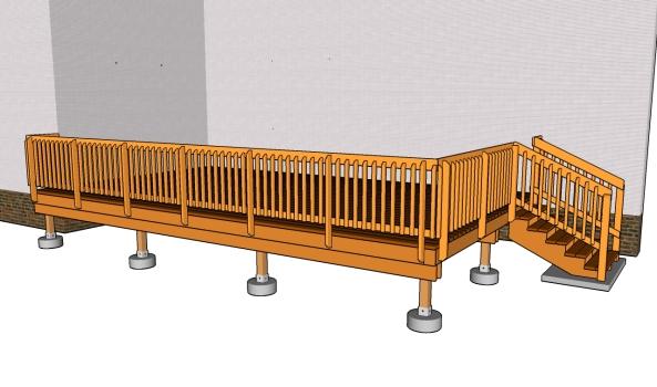 Under Deck Storage Shed Plans