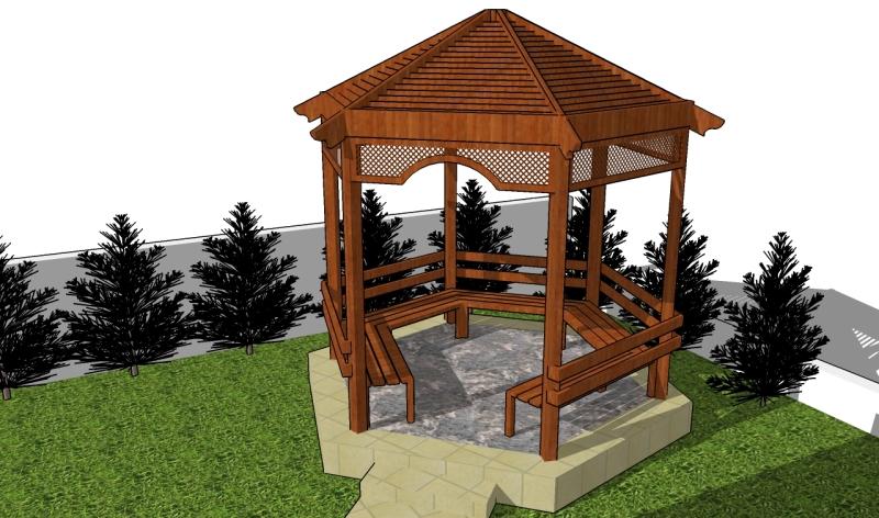 woodworking gazebo plans