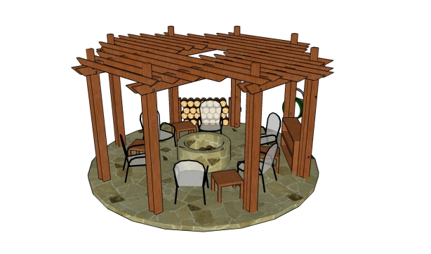 pergola plans how to build