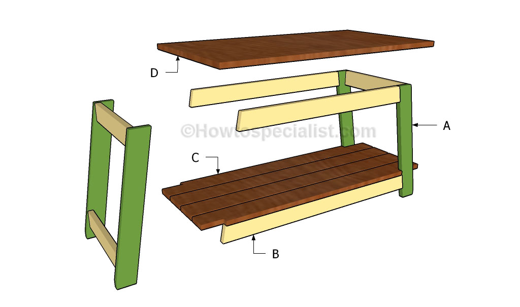 basic tv stand plans