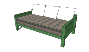 Daybed plans